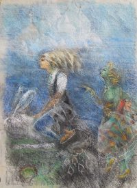 06 Alice and the City of Domes Pastel 70 59 2019 title=