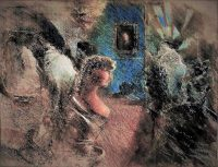 11 Russell Cotes Gallery After Dark Pastel 40 50 2017 title=