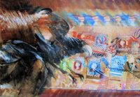 15 After Us The Savage Gods Oil Canvas 46 66 2014 title=