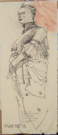 Figure Head French 18c pencil ND title=